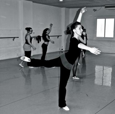 Cristina Facco professora del centre de dansa Laura Esteve
