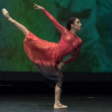 Eva Viaroli, professora del centre de dansa Laura Esteve